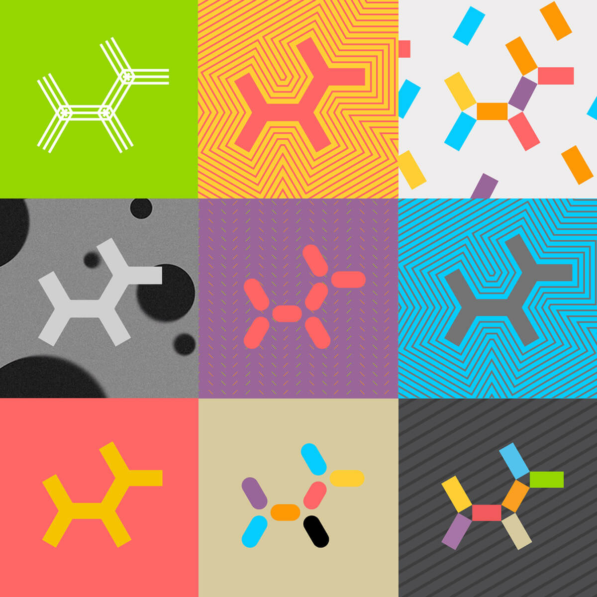 Embark logo grid
