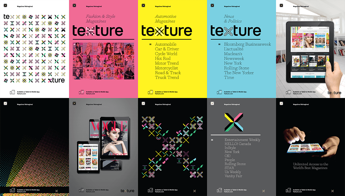 Texture posters