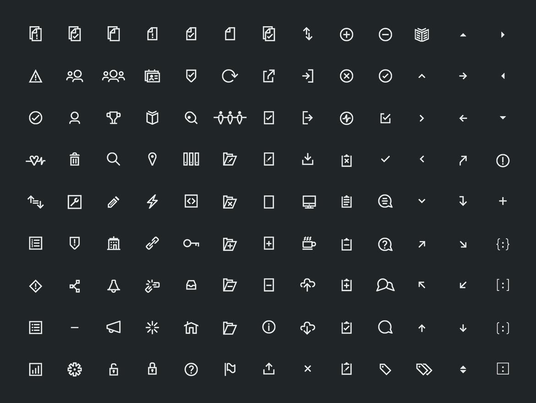 SRC:CLR icons