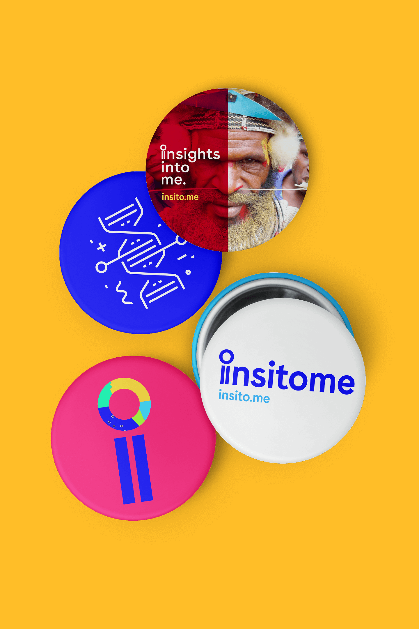 Insitome pins