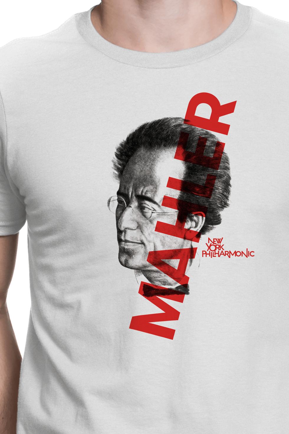 NYPhil Mahler tee