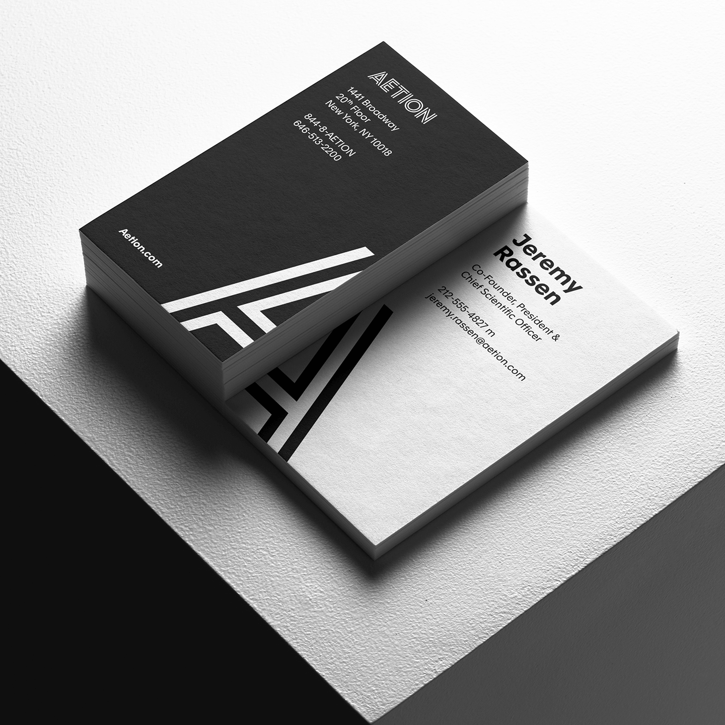 Aetion business cards