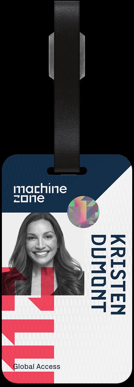 Machine Zone badge