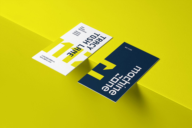 Machine Zone business card