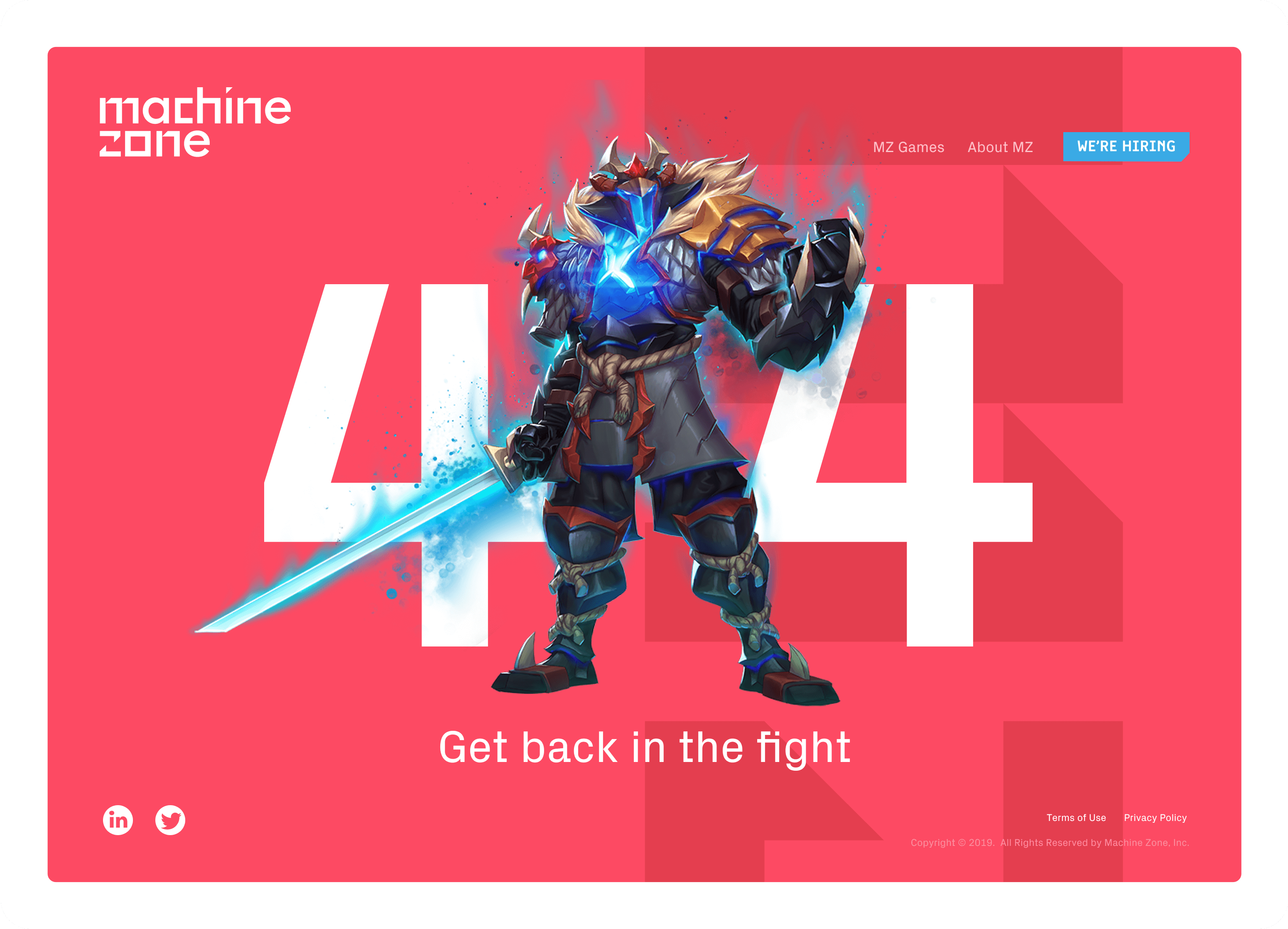 Machine Zone website