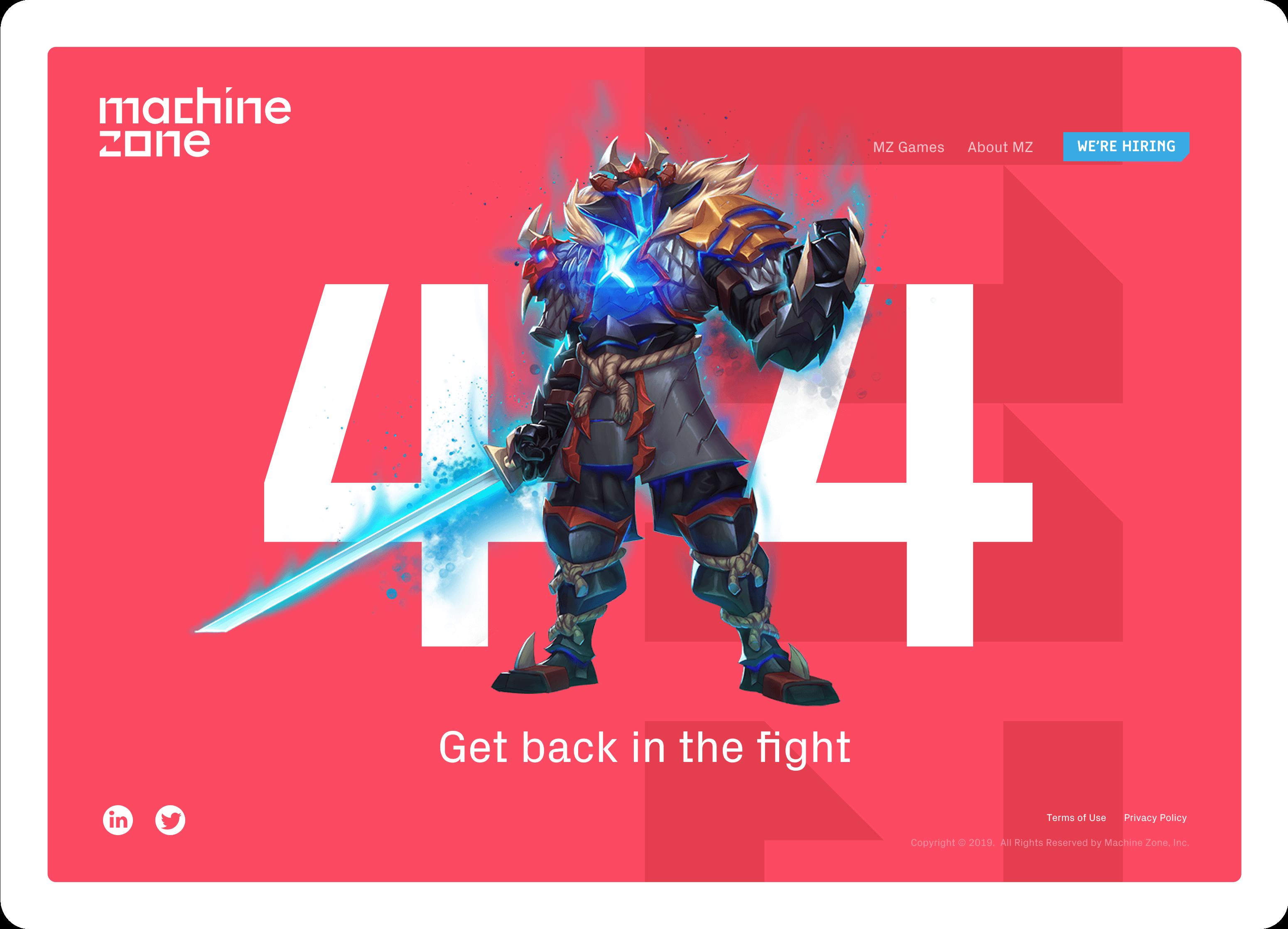 Machine Zone website
