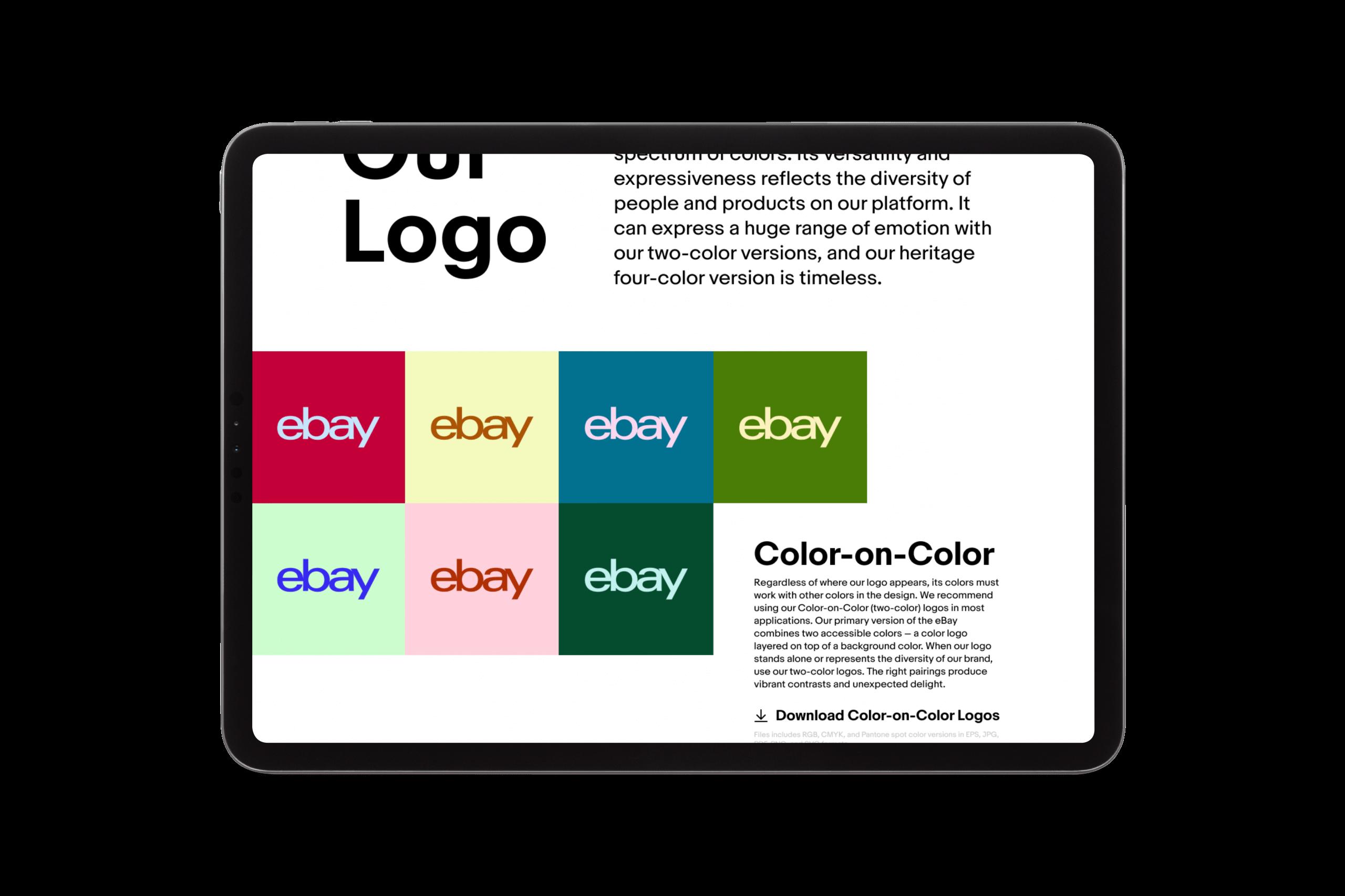 eBay guidelines