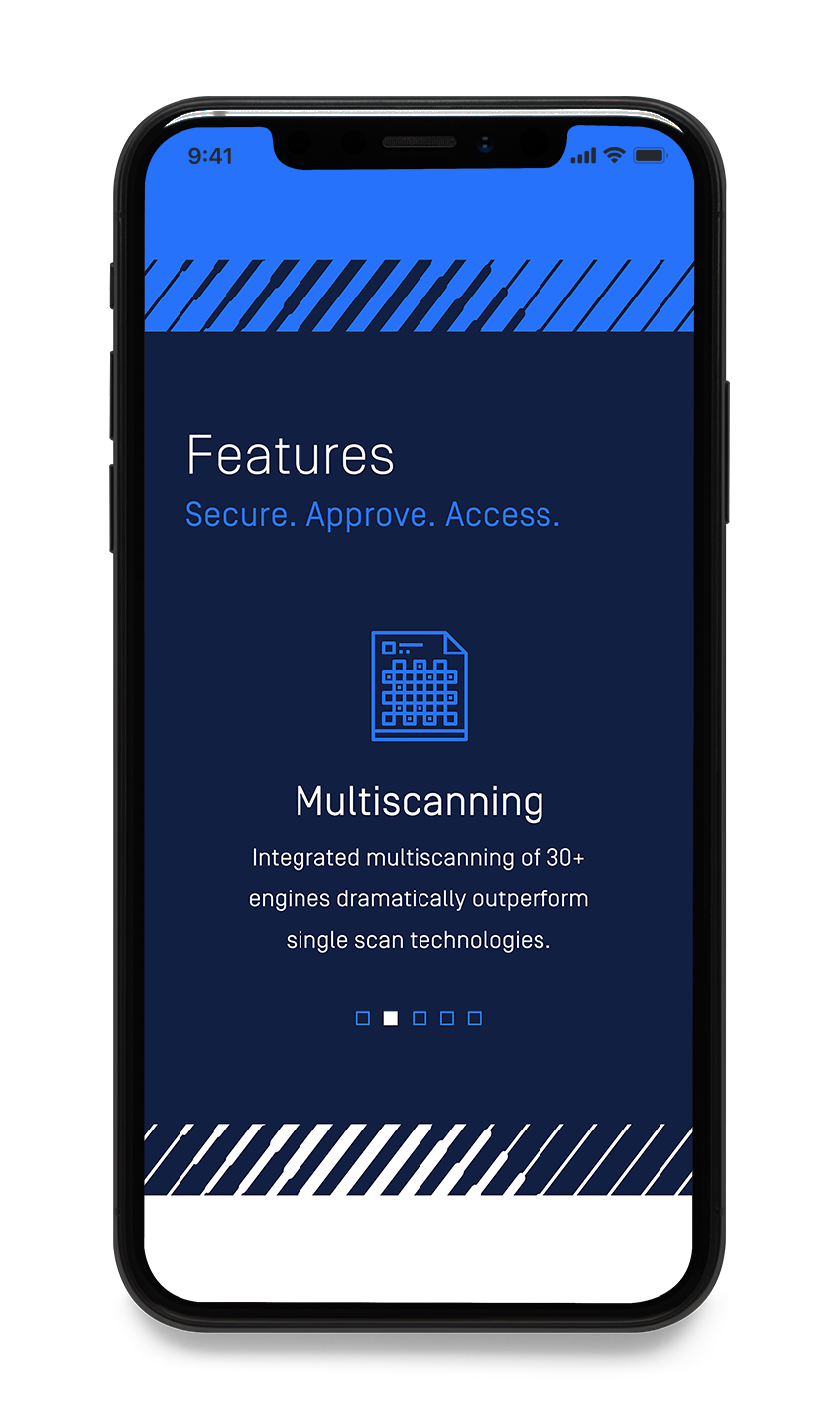 OPSWAT mobile website