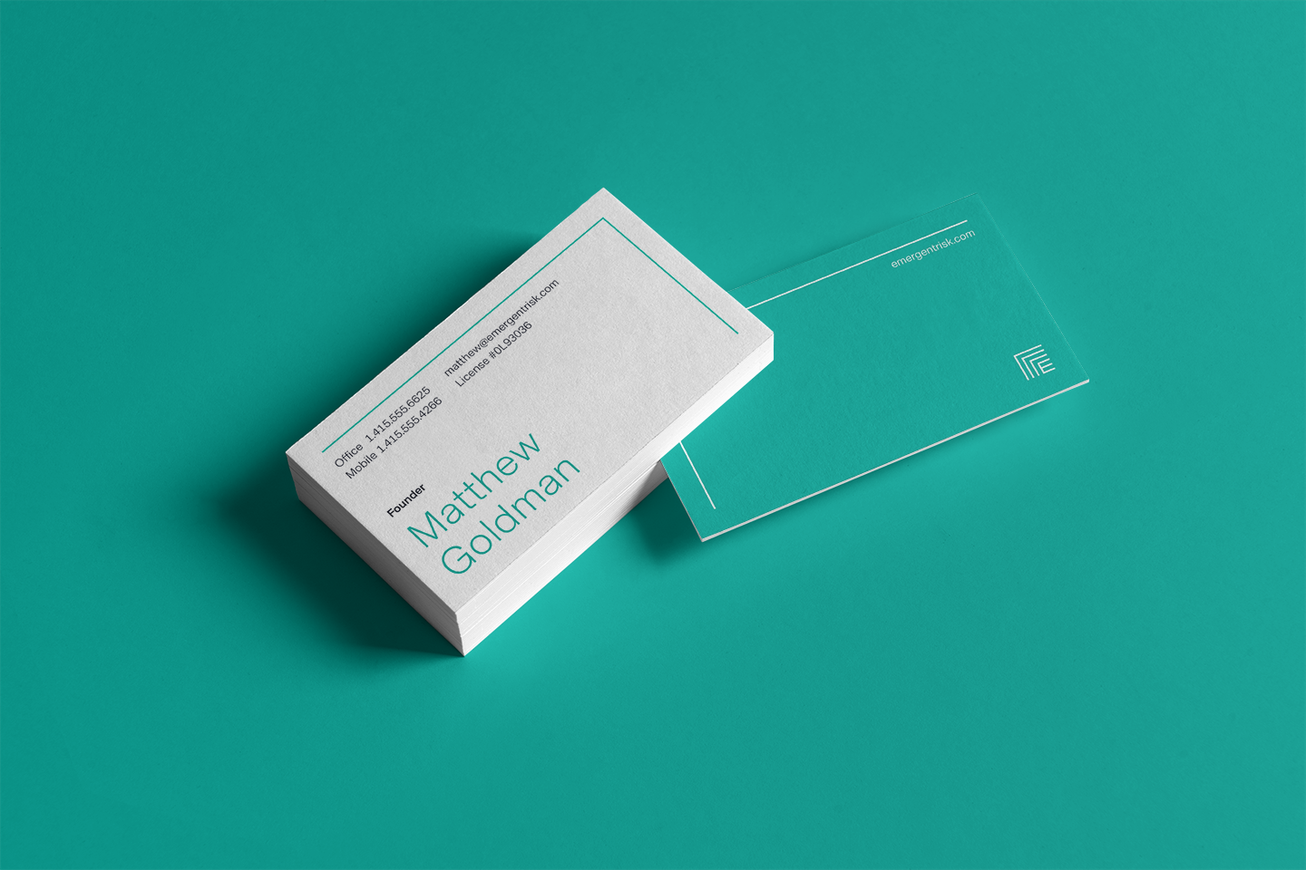 Emergent business card