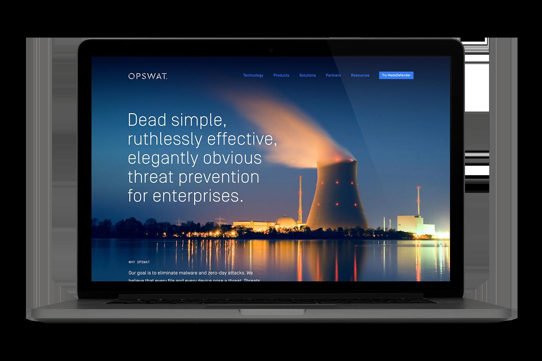 OPSWAT homepage