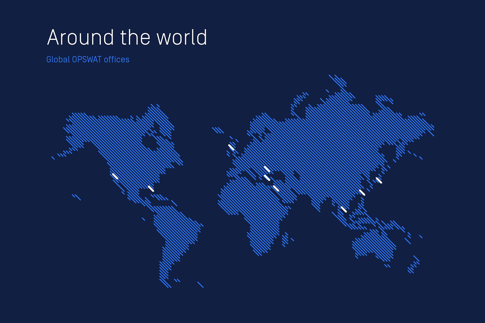 OPSWAT map
