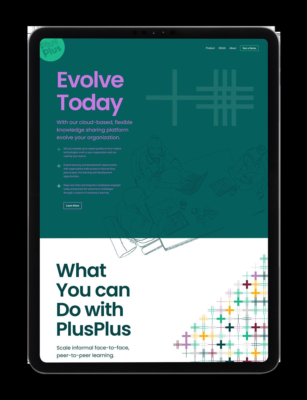 PlusPlus website